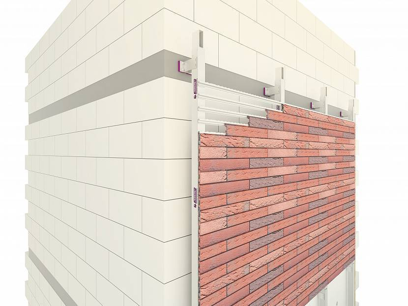 Отделка фасада клинкерной плиткой — поэтапный монтаж