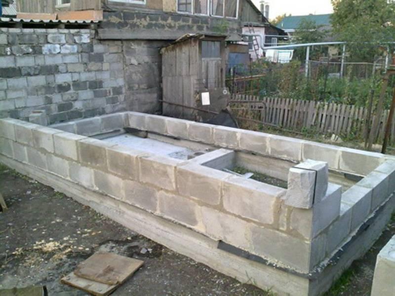 Дом из шлакоблока своими руками - строительство дома из шлакоблоков | стройсоветы