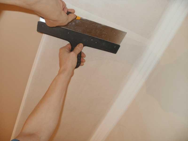 ????ремонт потолка стекловолокном и стоимость поклейки паутинки под покраску - блог о строительстве
