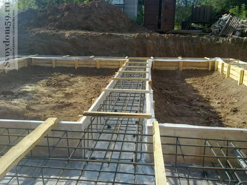 Как построить дом с подвалом своими руками и фундамент