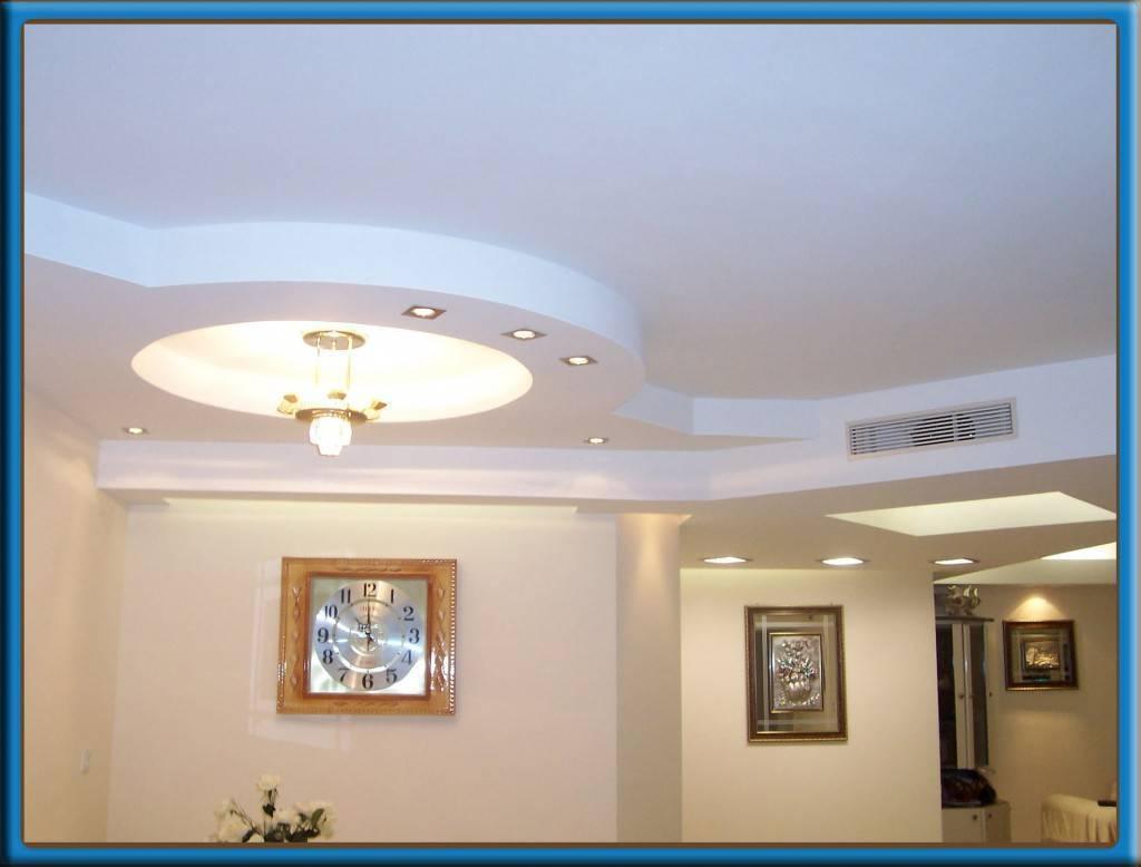 Потолки из гипсокартона: фото для спальни