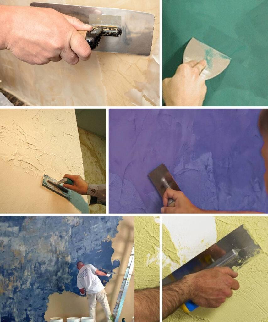 Венецианская штукатурка своими руками (63 фото): технология нанесения, как правильно наносить, как нанести на стены и потолок