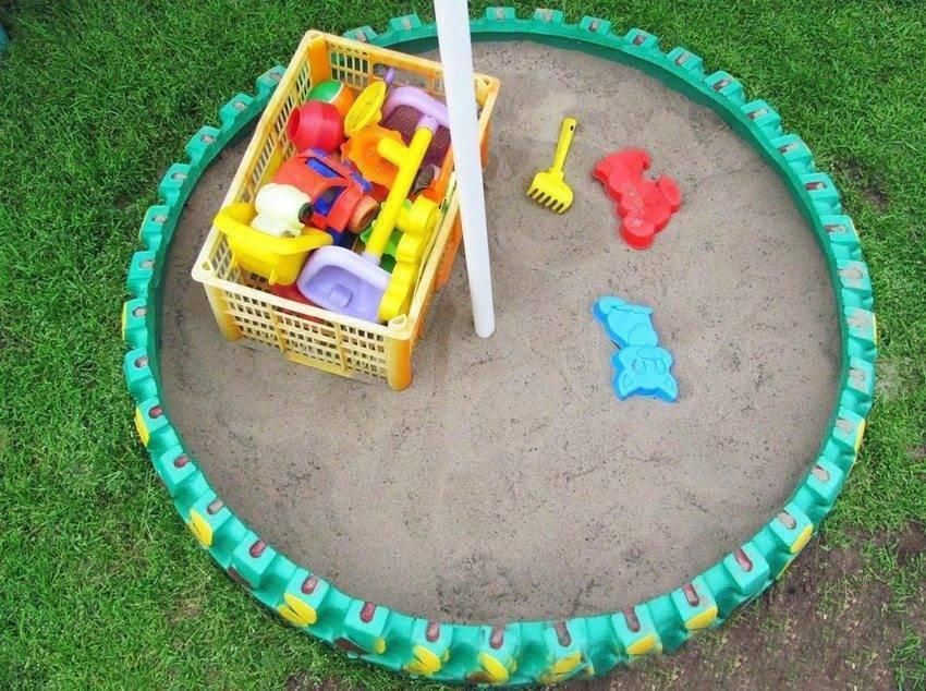 Детская площадка на даче своими руками - дизайн и обустройство