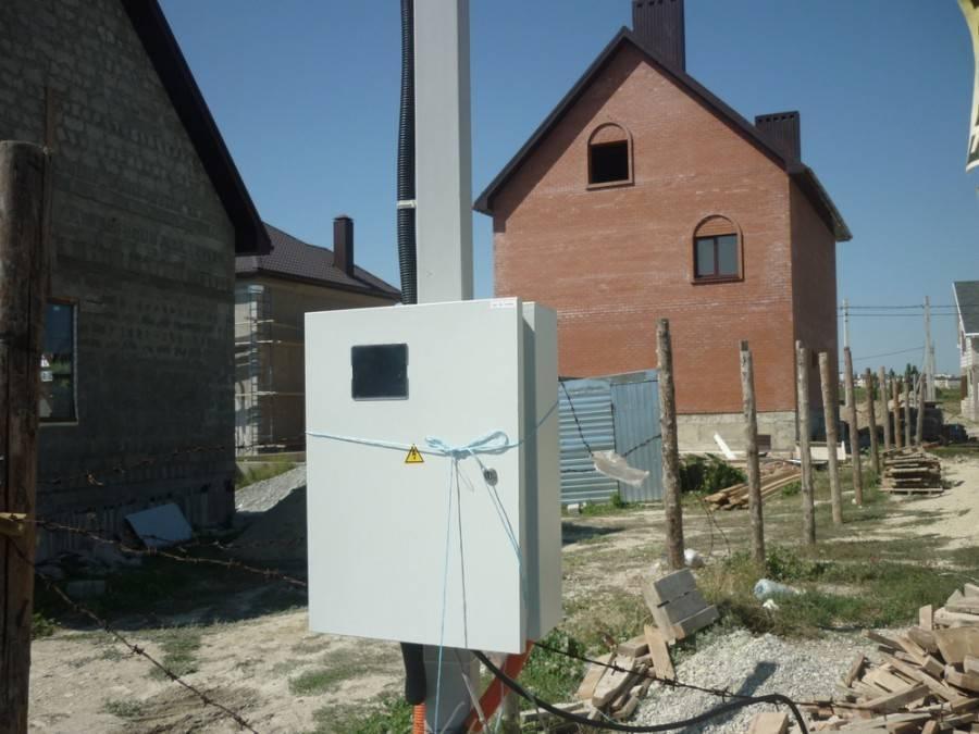 Подключение электричества к дому. как провести электричество на участок, какая цена и порядок выполнения работы