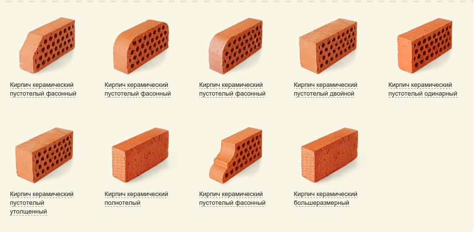 Характеристики, свойства, применение керамического кирпича |