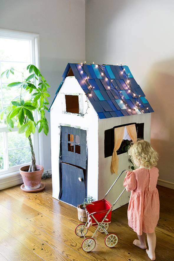 Поделка домик — 75 фото как сделать декоративный домик из подручных средств