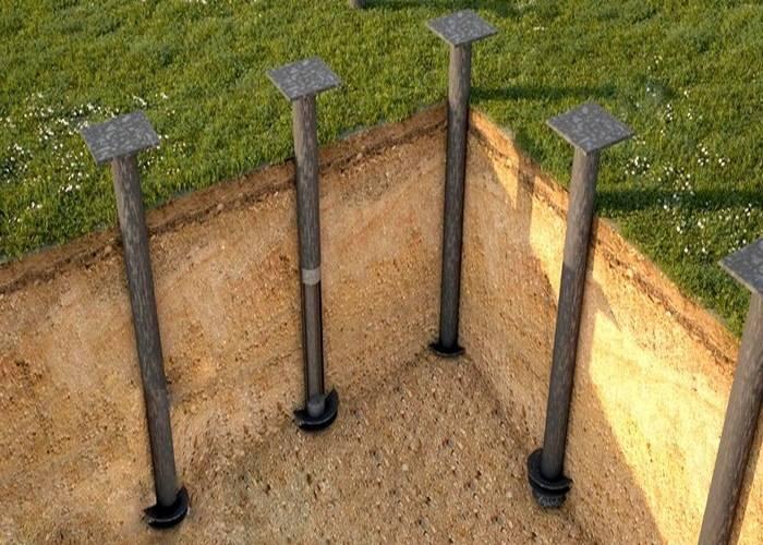 Строительство на винтовых сваях: особенности материала и технология процесса