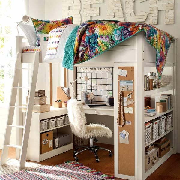 Кровать-чердак для детей: модели / как выбрать?