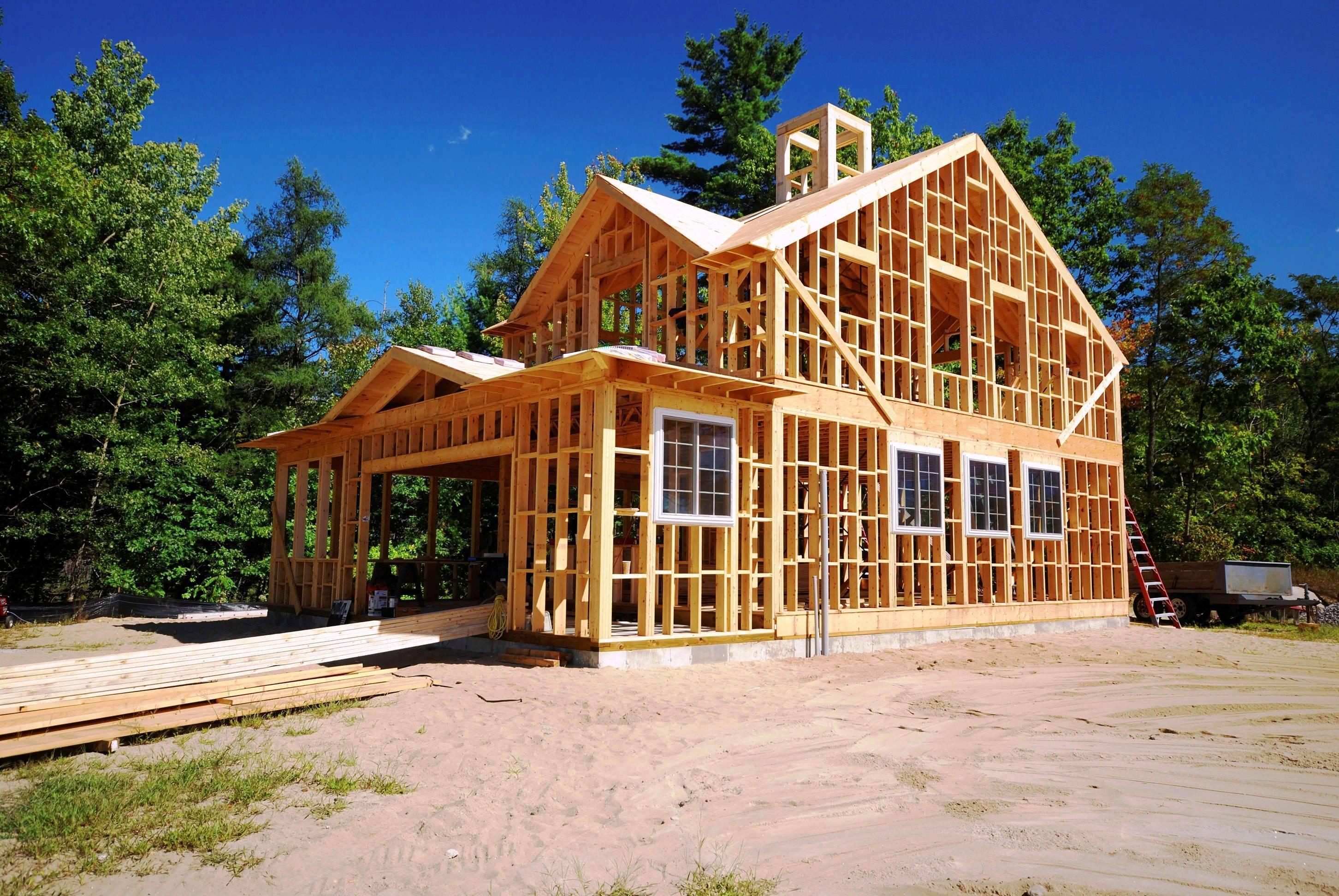 Технология и проекты каркасно-панельных домов