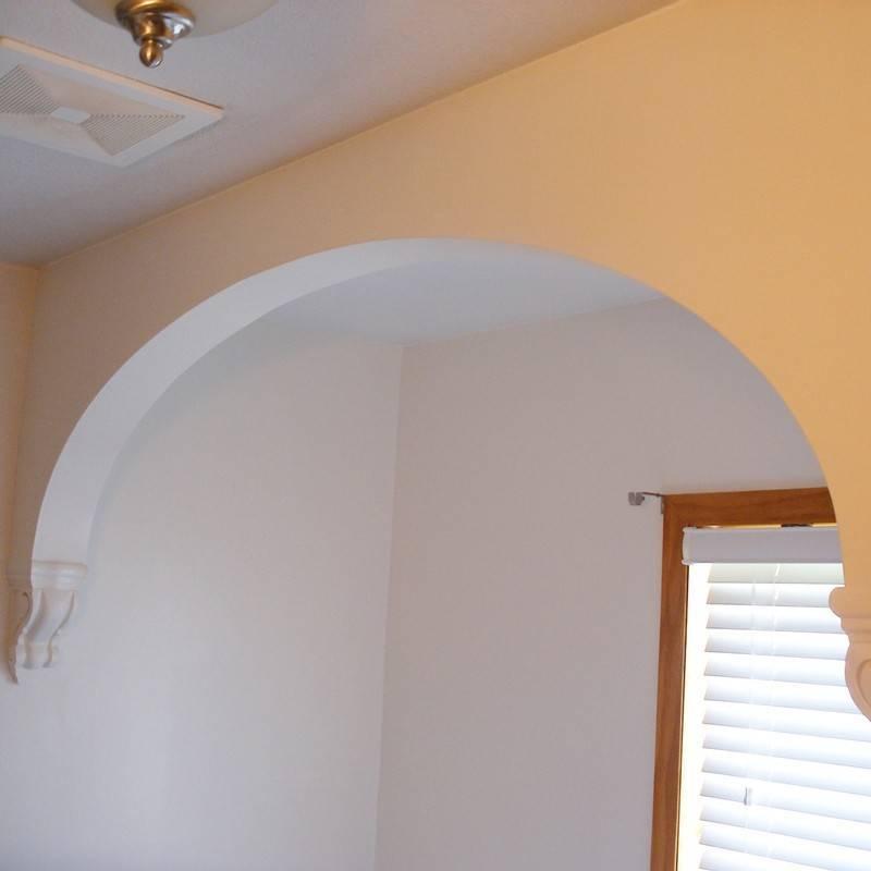 Какой толщины должен быть гипсокартон для арки