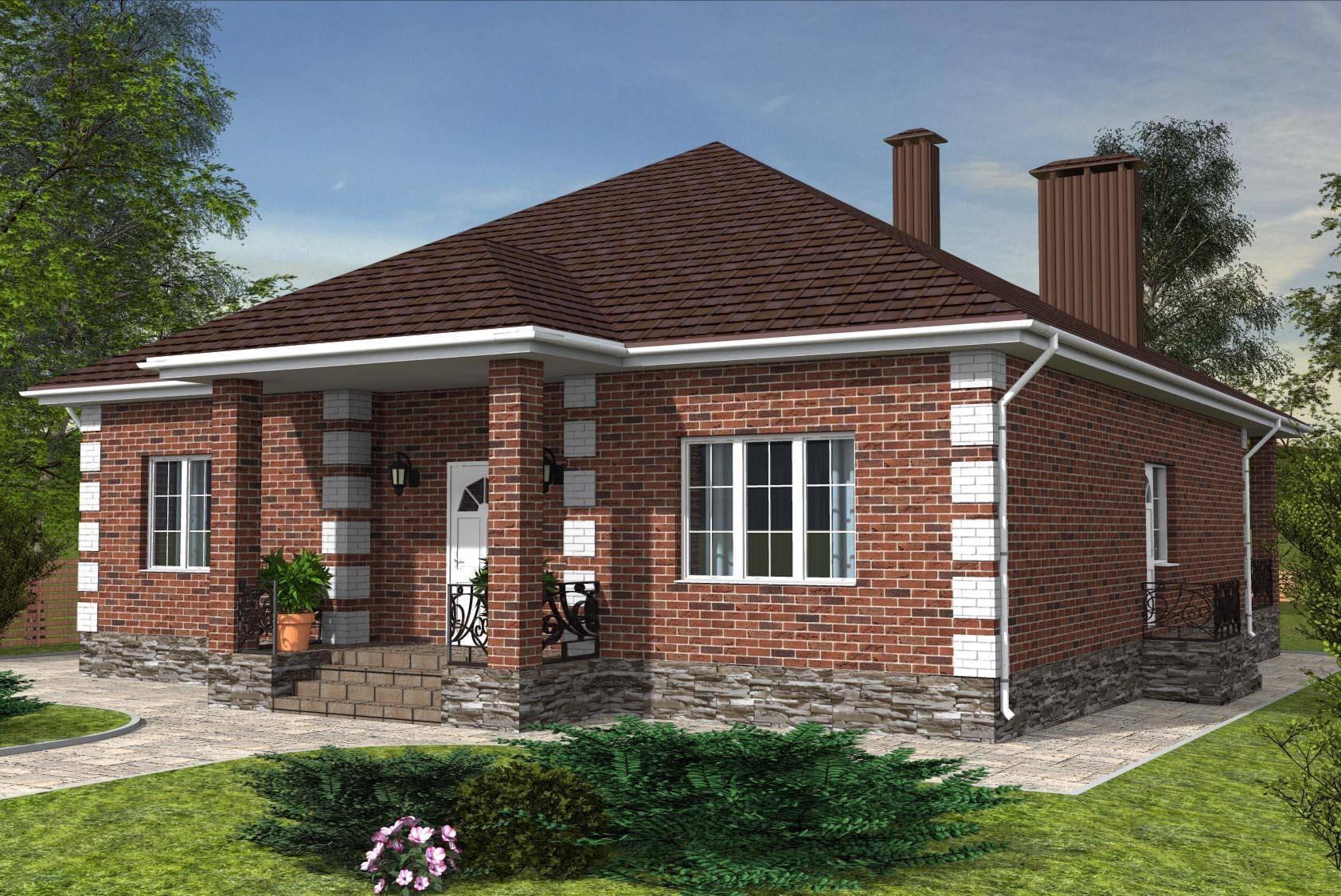 Дом из кирпича и из керамического кирпича: плюсы и минусы