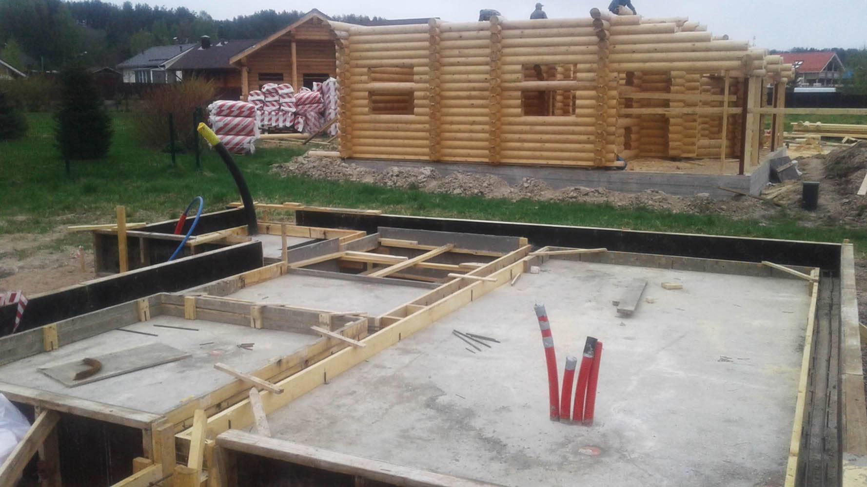 Фундамент для деревянного дома: как выбрать и сделать