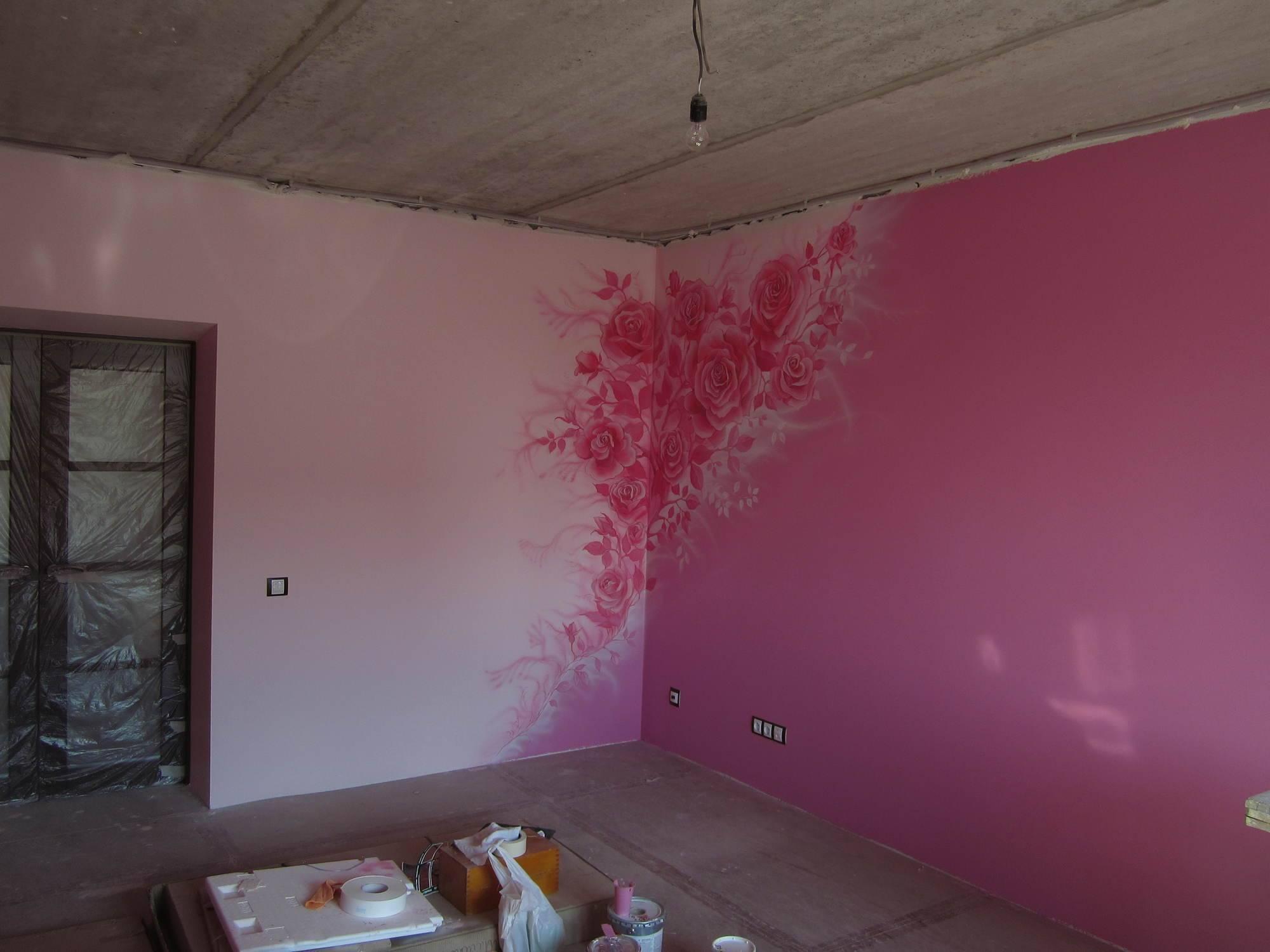 Как покрасить стены водоэмульсионной краской своими руками + видео