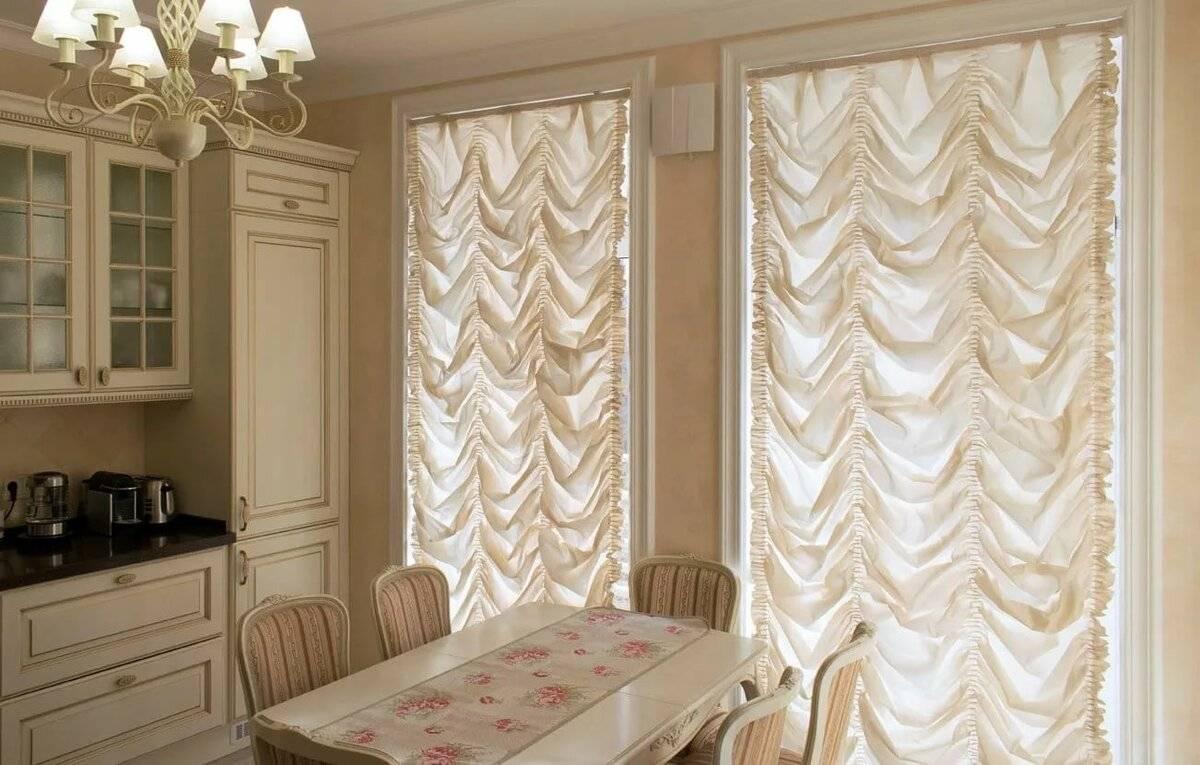 Классические шторы в современных интерьерах