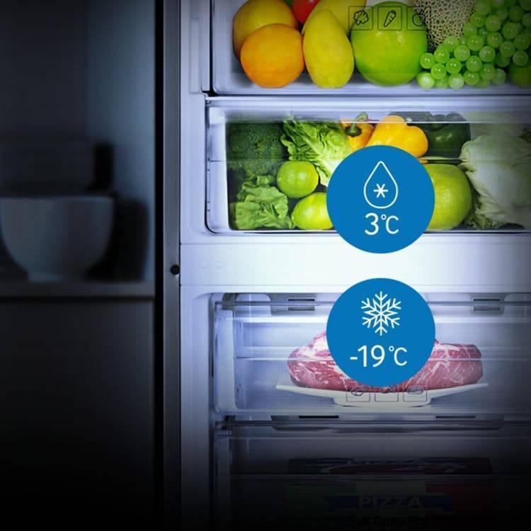 Какая температура должна быть в холодильнике. как выставить идеальную температуру в холодильнике и морозилке