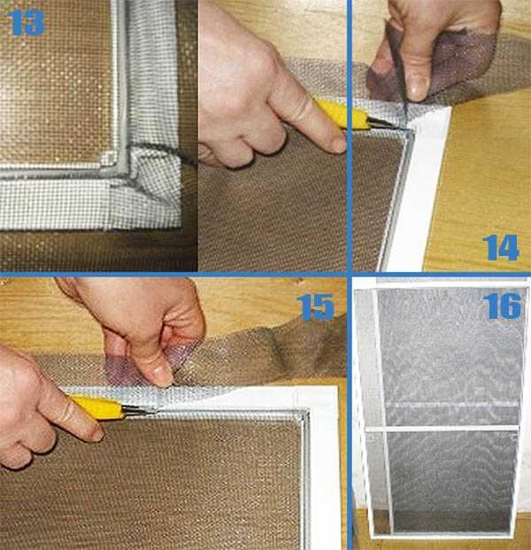 Как установить москитную сетку на пластиковое окно самому