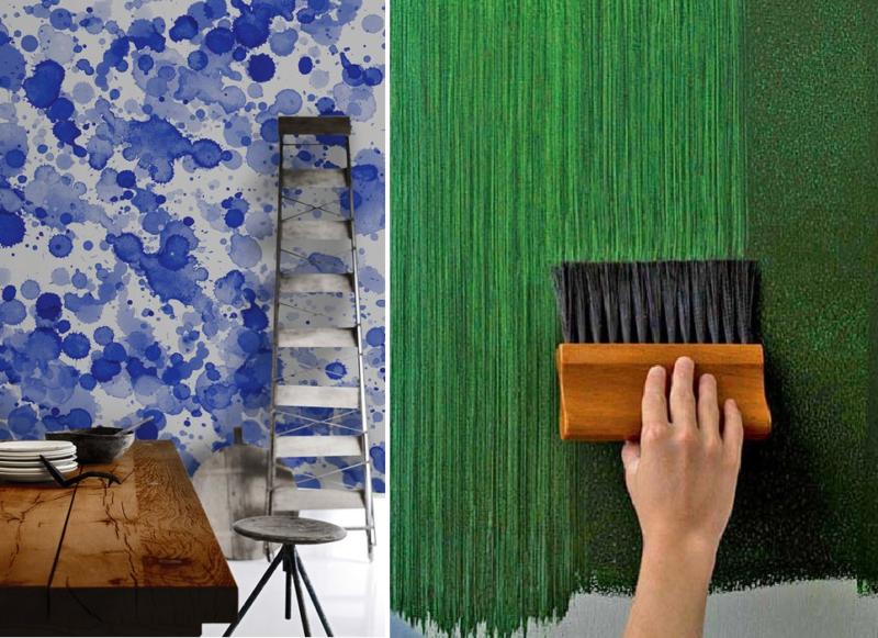 Выбор краски для потолка в ванной комнате и ее нанесение