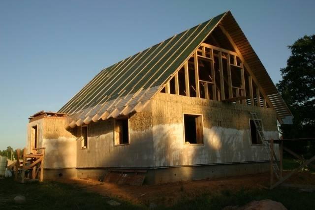 Дом из самана своими руками: технология строительства, фото проектов саманных домов