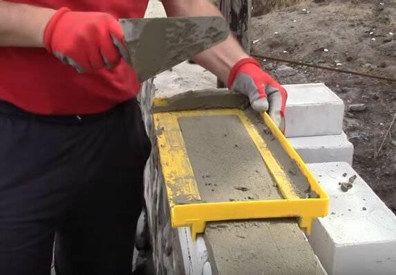 Приспособление для кладки кирпича: просто, надежно, удобно