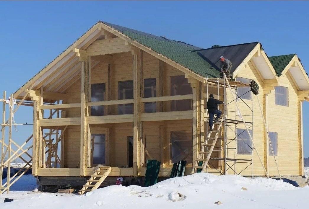 Как строят деревянные дома? что означает строительство «под ключ»? на сайте недвио