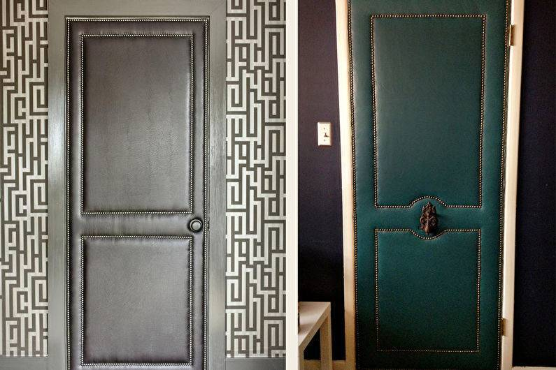 Как дешево обновить межкомнатную дверь