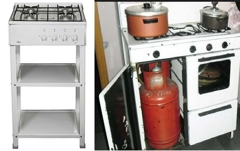 Газовая плита для дачи под баллон - описание настольных, компактных, переносных или с духовкой