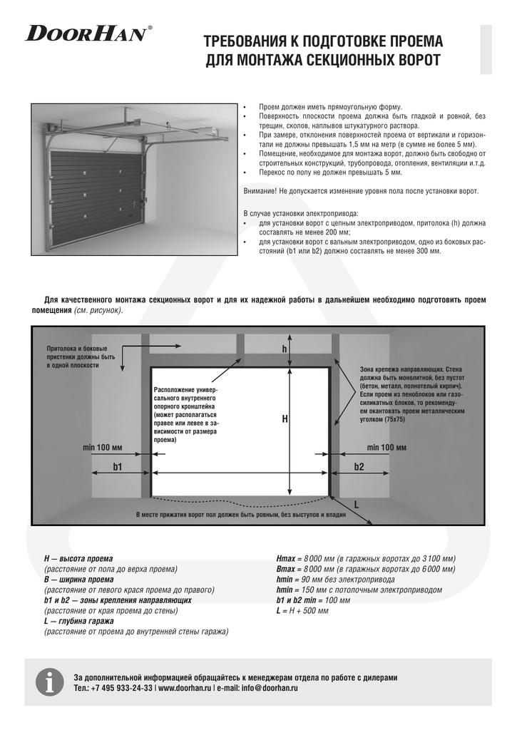 Секционные ворота: виды, размеры, инструменты, подробная инструкция монтажа самостоятельно