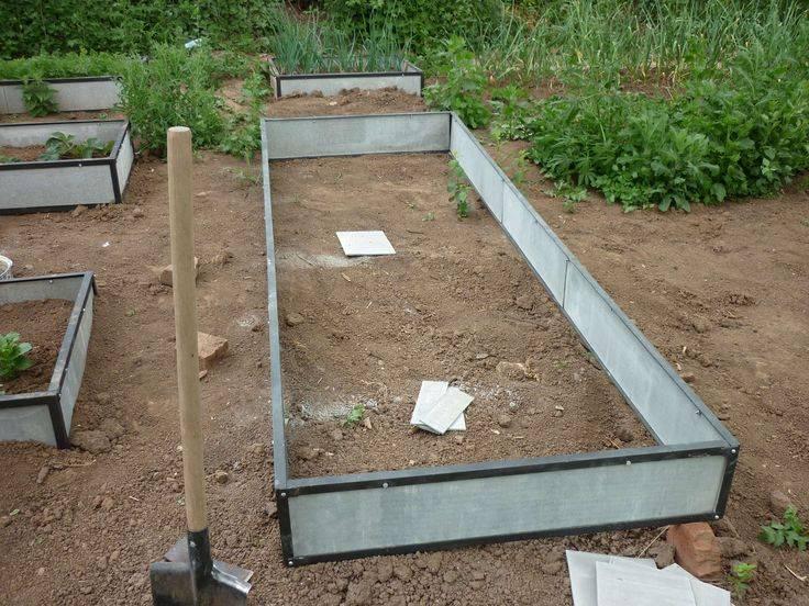 Наполнение высоких грядок: важные нюансы | огородник