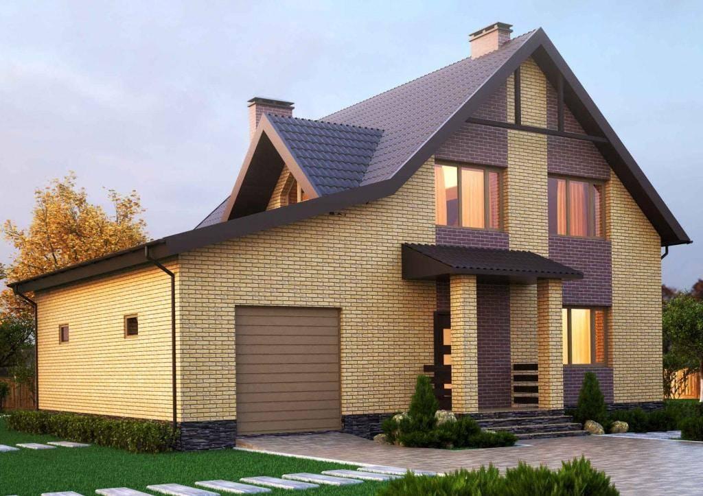 Проект частного дома из пеноблоков: план и чертеж фундамента, план закладки коммуникаций и электроснабжения