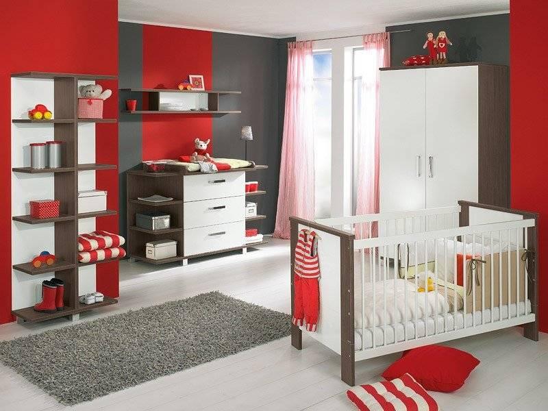 Стильная комната для новорожденного с соблюдением всех требований