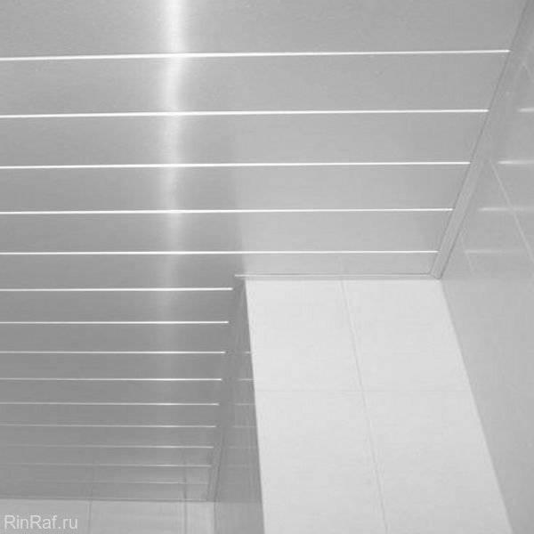 Реечный потолок в ванной комнате своими руками. монтаж реечного потолка в ванной своими руками