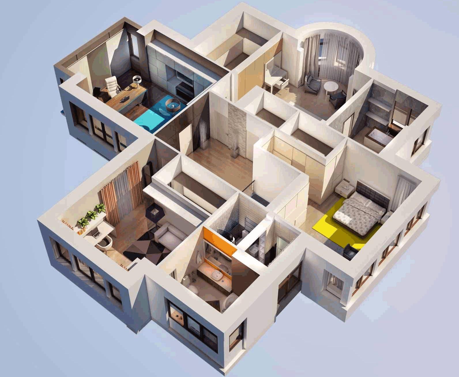 Лучшая планировка дома: варианты, правила и рекомендации