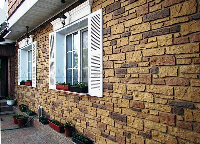 Как обшить  цоколь частного дома пластиковыми панелями под камень или под кирпич