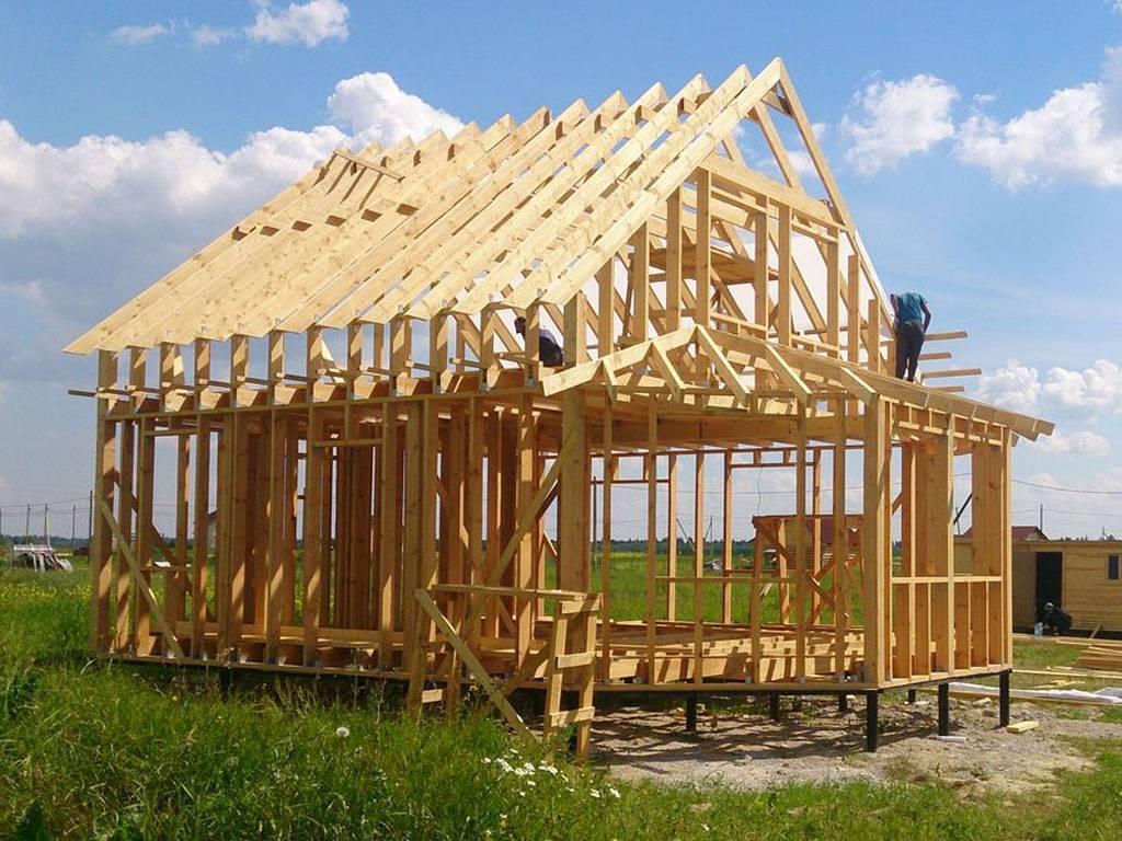Сколько стоит монтаж каркасного дома
