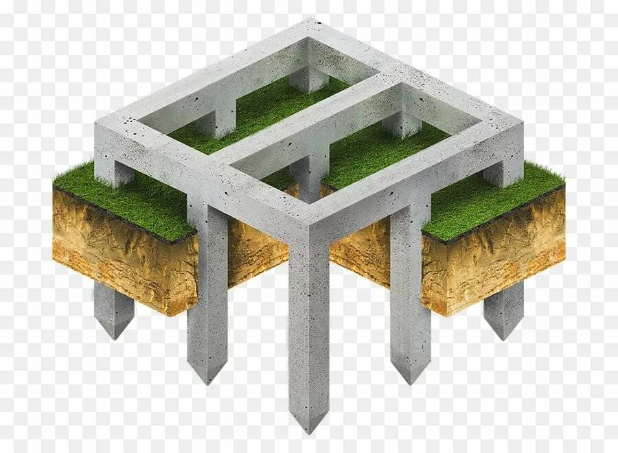 Фундамент на железобетонных сваях – надежная опора для дома