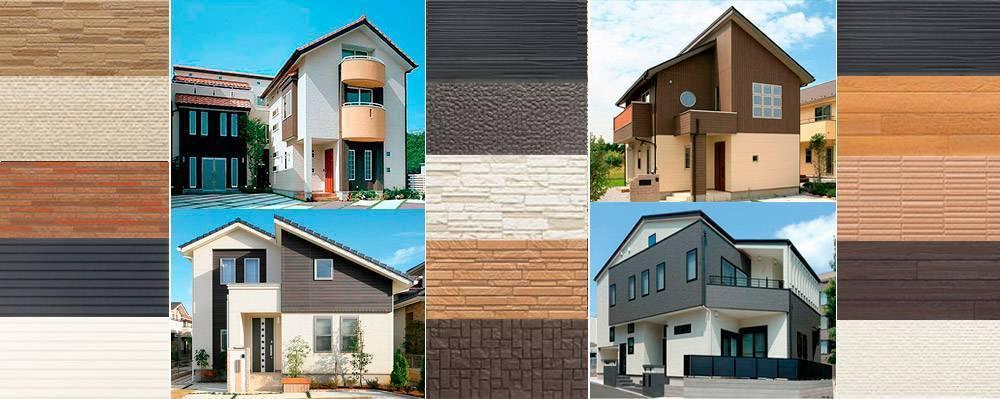 Японский сайдинг для фасада: фиброцементный и керамический