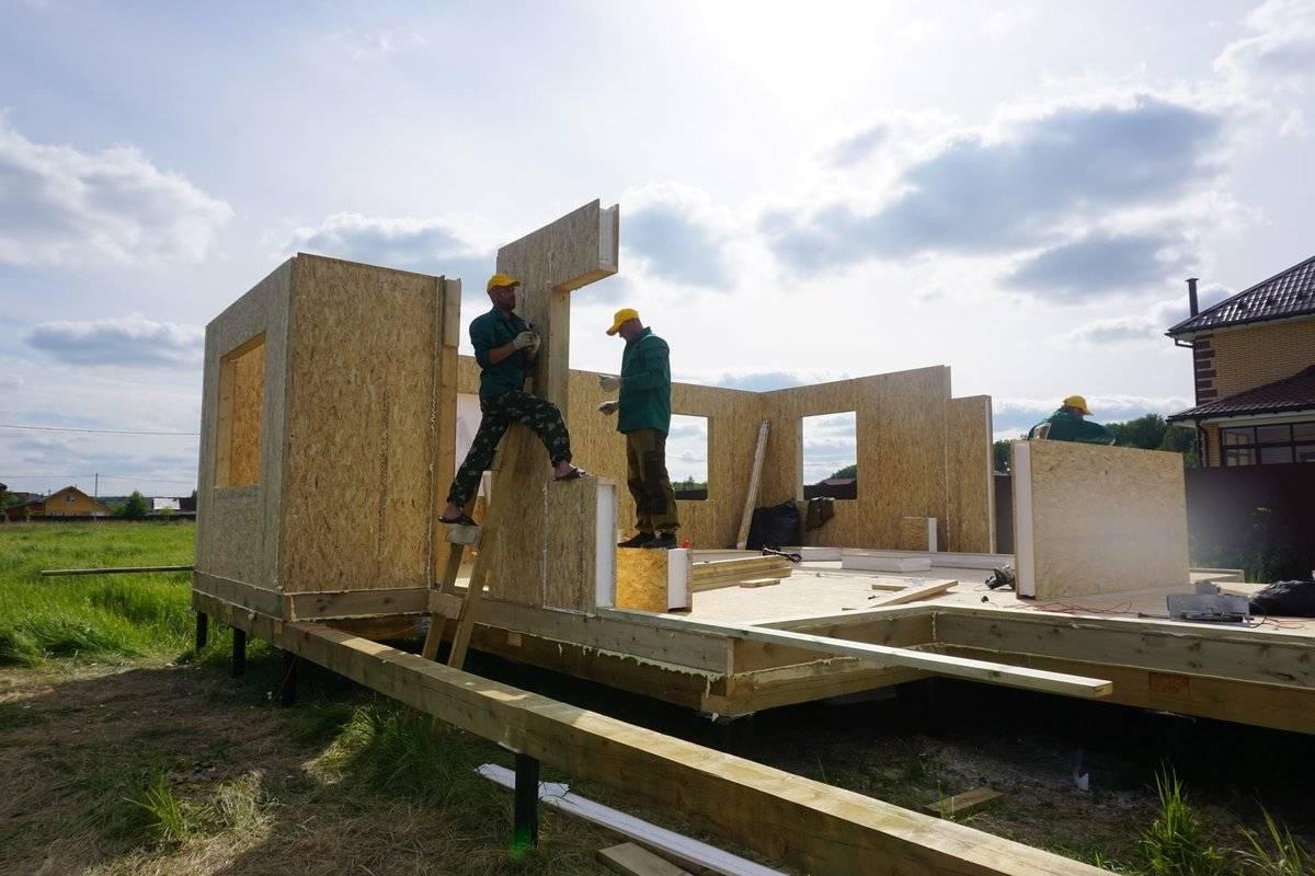 Построить дом из сип панелей: этапы сборки, видео и фото | деревянные материалы и их применение в строительстве | журнал дока