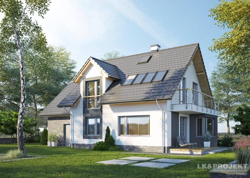 Проекты домов с мансардой: бесплатно чертежи и фото