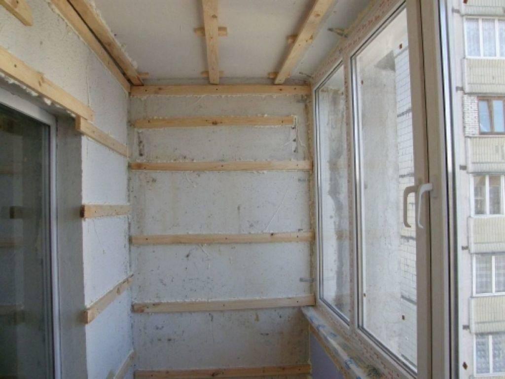 Отделка балкона вагонкой своими руками - инструкция!