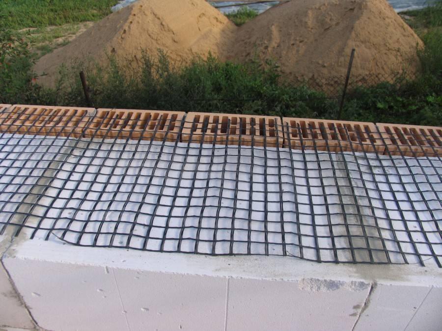 Армирование газобетонных блоков: нужно ли армировать кладку и как правильно это сделать