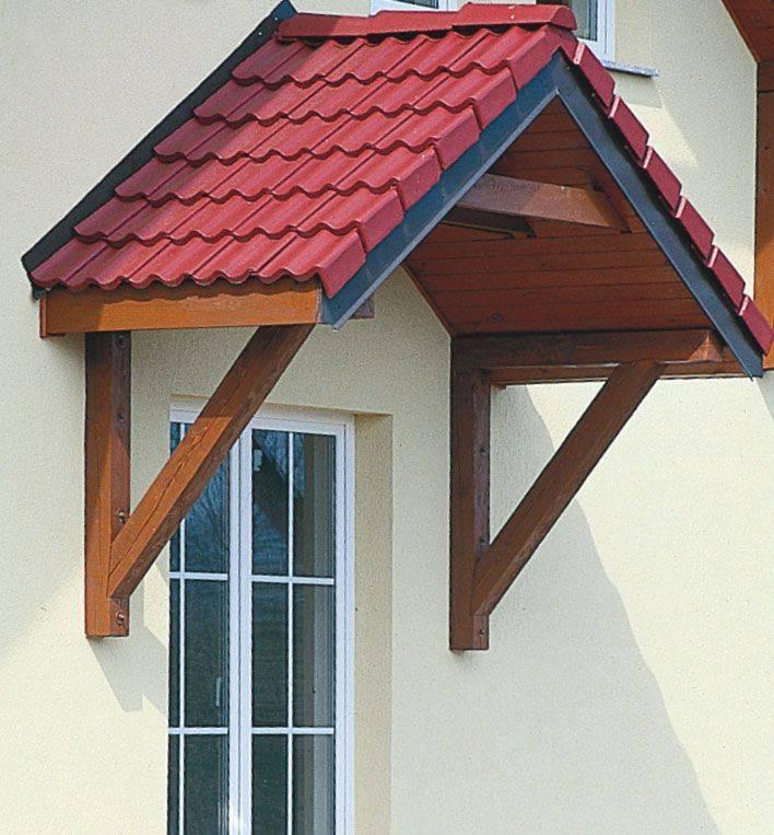 6 советов по обустройству навеса (козырька) над крыльцом частного дома + фото | строительный блог вити петрова