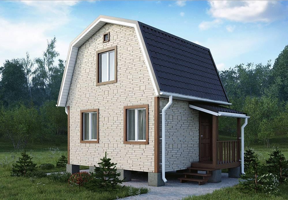 Проекты домов эконом класса из пеноблоков под ключ