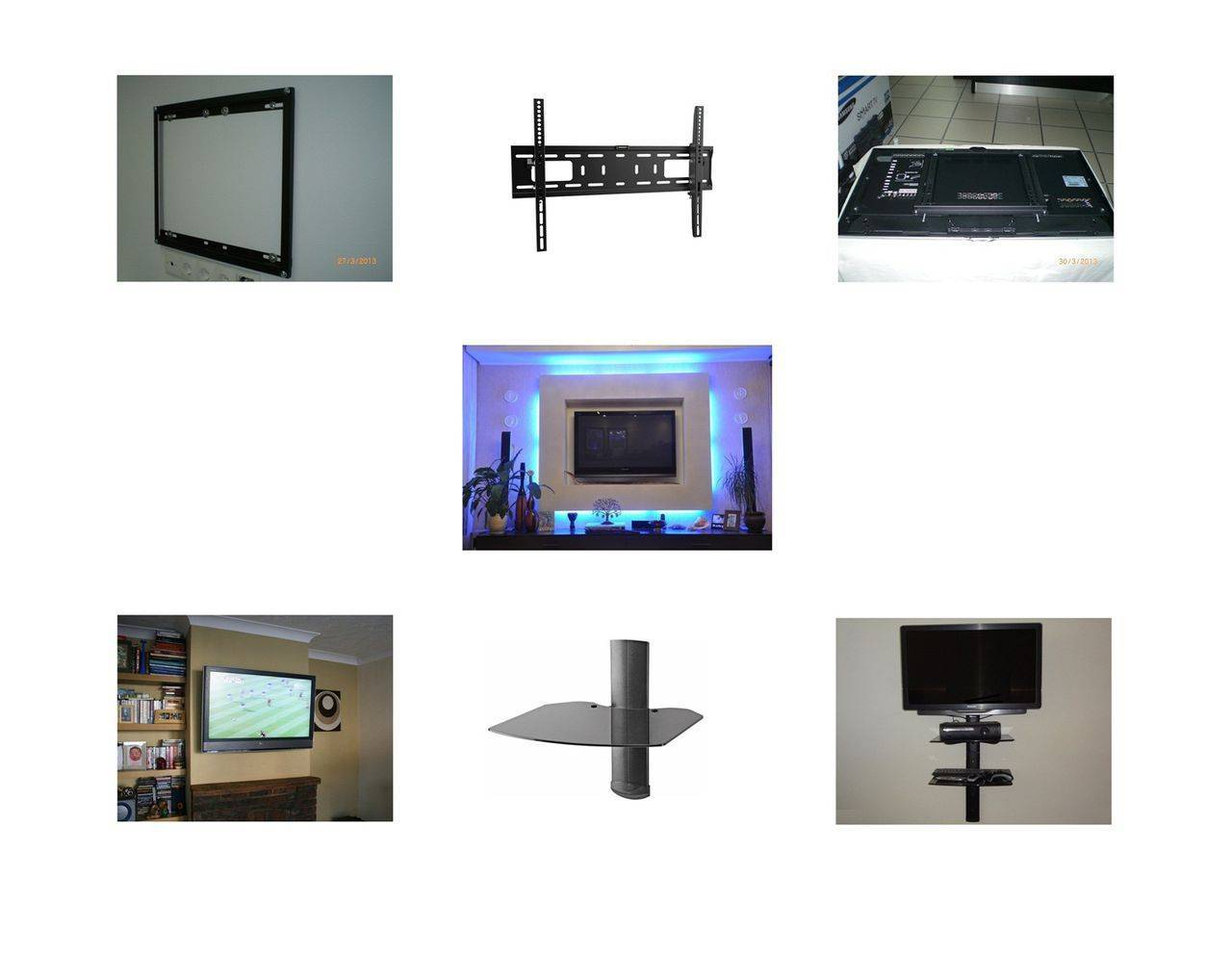 Как повесить телевизор на стену: выбор, крепление кронштейнов