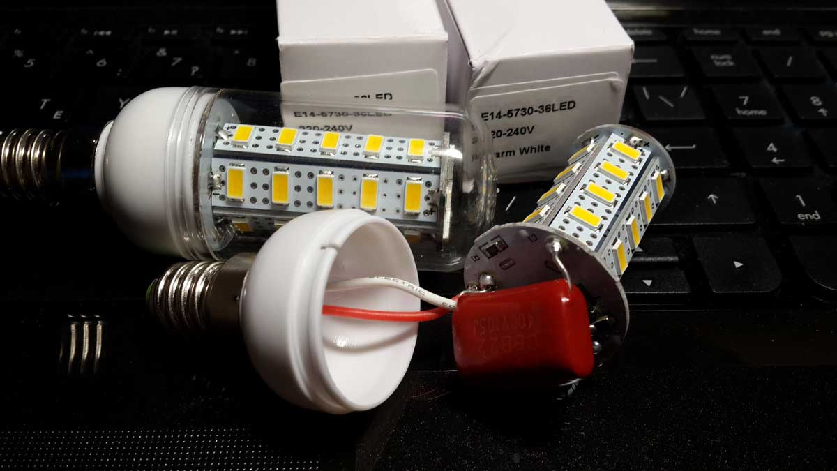 Как отремонтировать светодиодный светильник своими руками