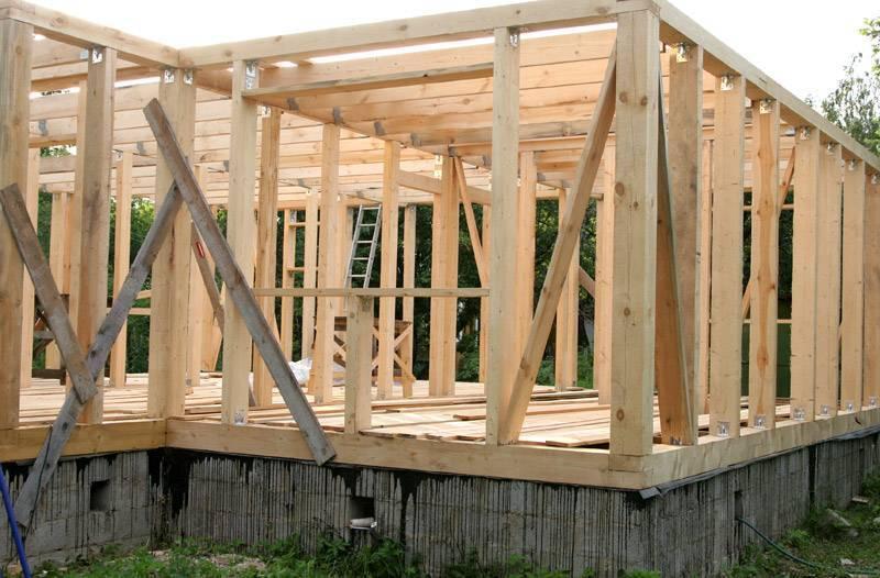 Строим деревянный каркасный дом своими руками - пошаговая инструкция
