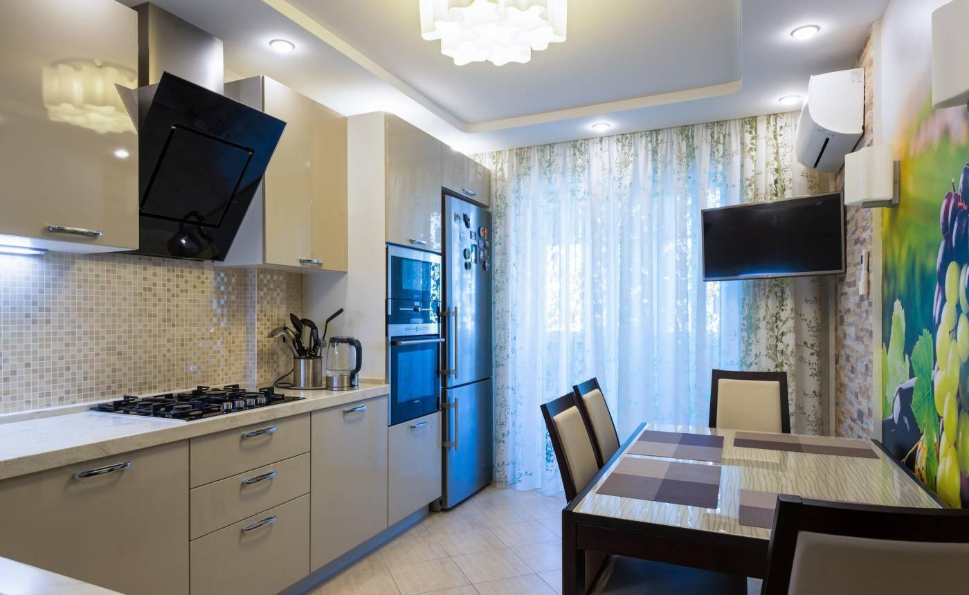 Правила дизайна кухни площадью 9 кв. м: как распорядиться метрами с максимальной пользой