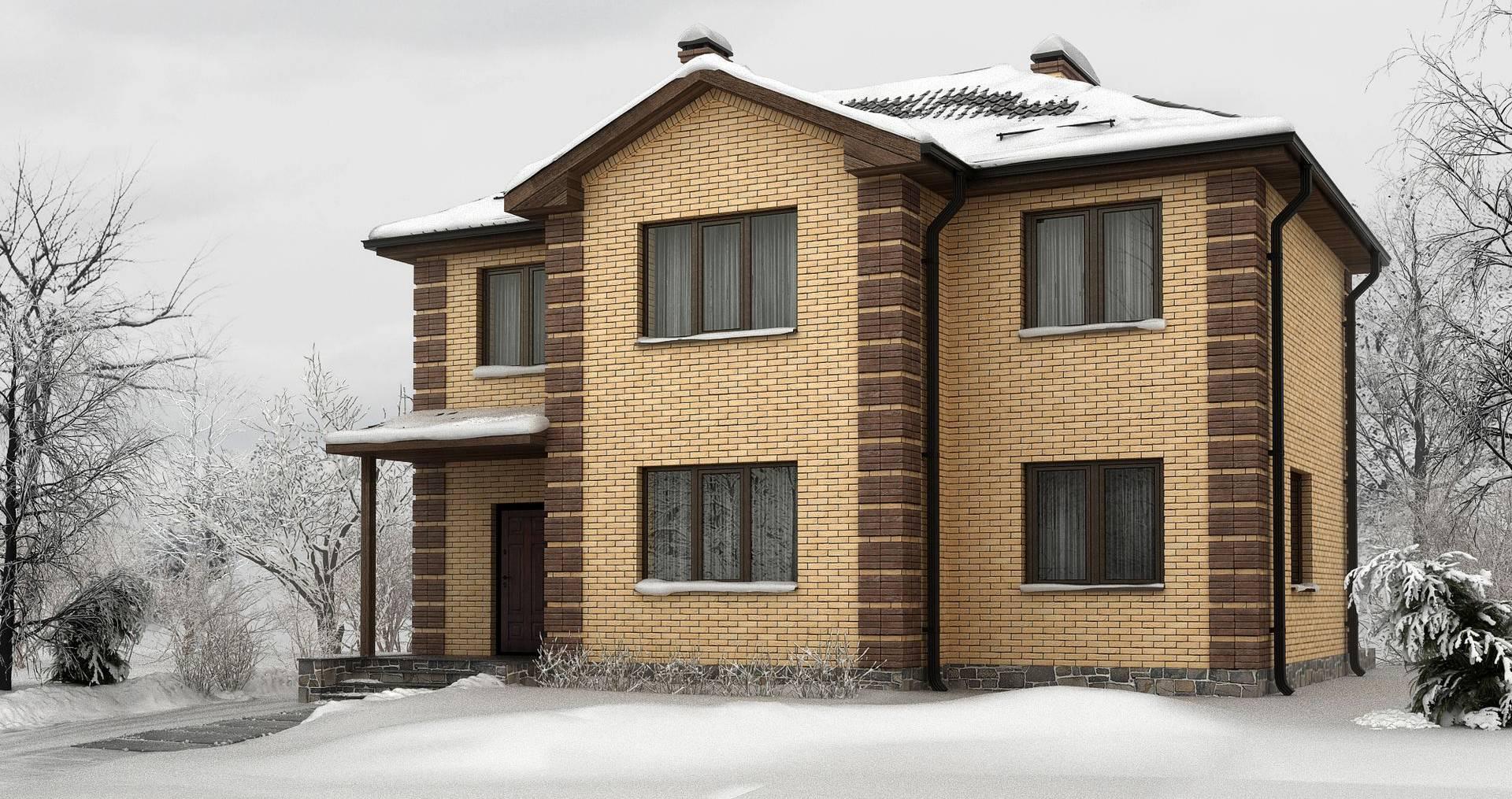 Черпаем идеи: красивые дома из кирпича на фото