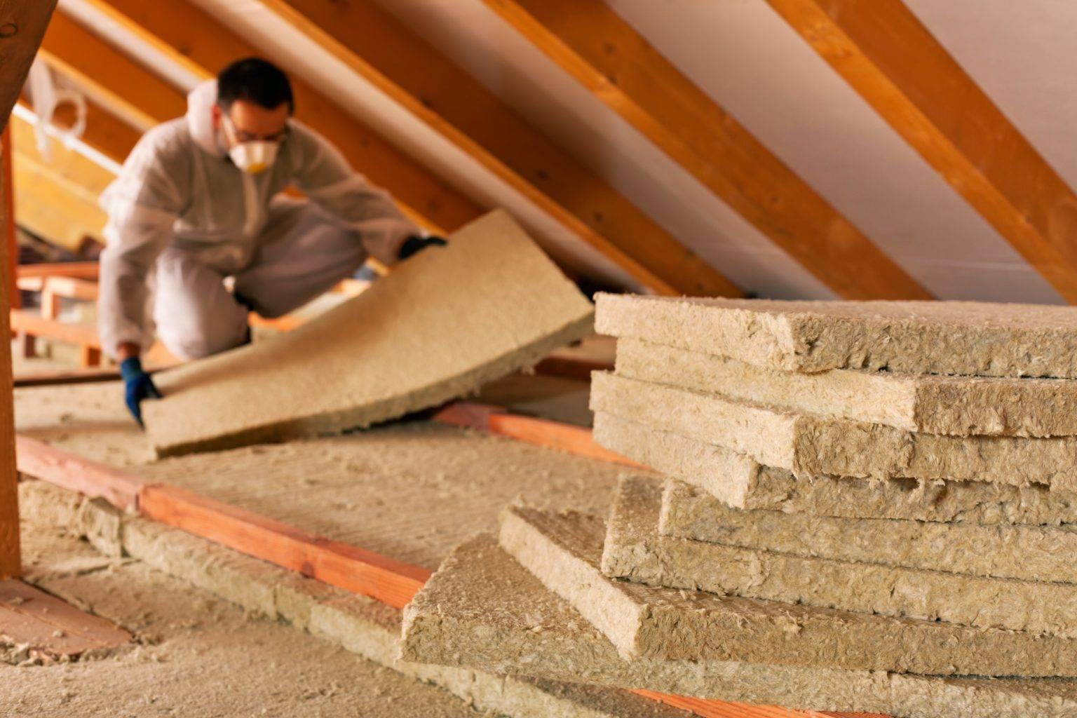 Утепление потолка минватой своими руками, какой слой нужен? (видео)