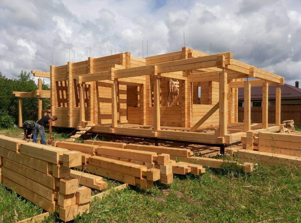 Как построить дом из клееного бруса? | фазенда рф