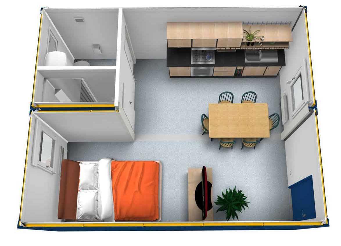 ? модульные дома для круглогодичного проживания